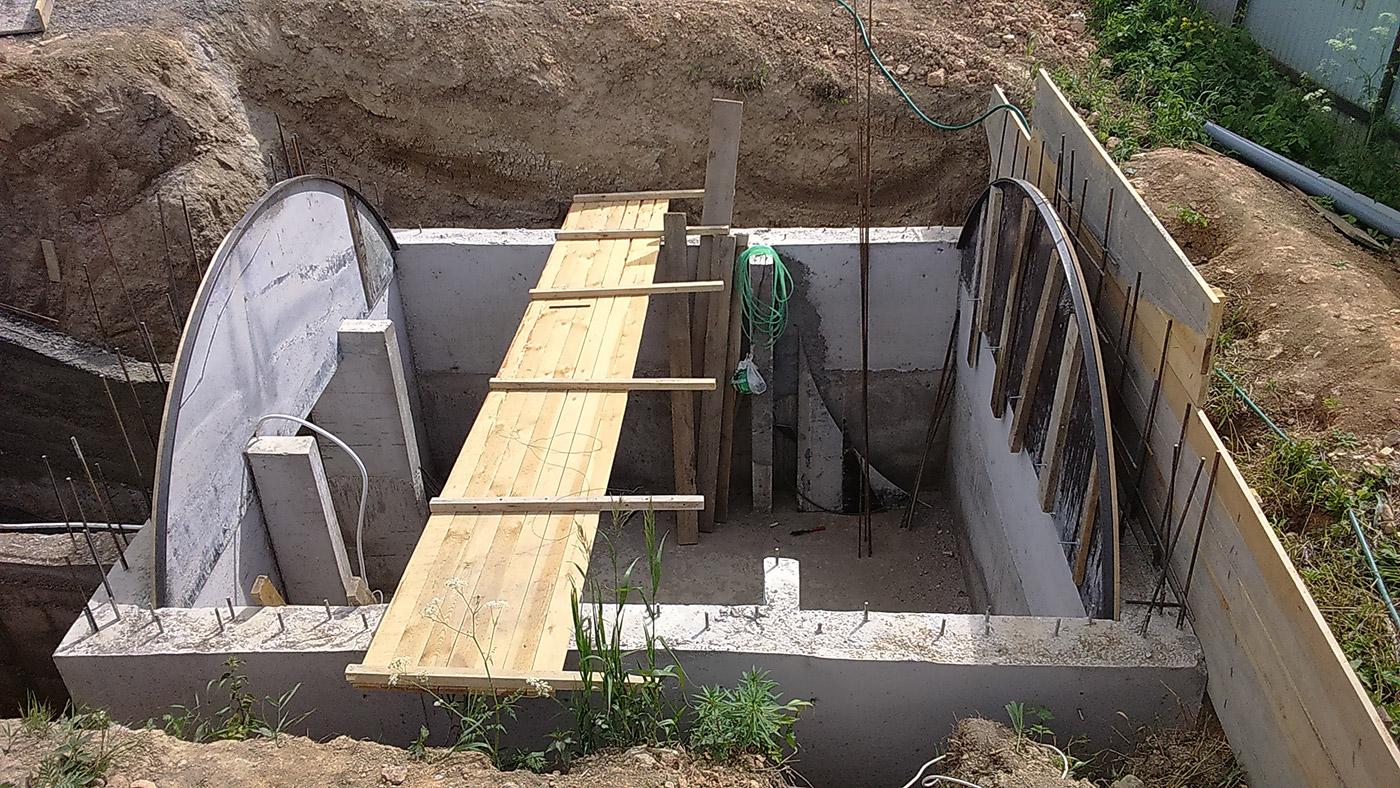 строительство погреба видео