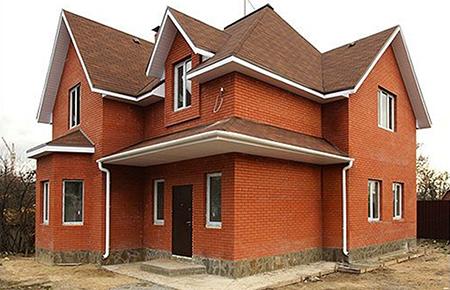Cтроительство загородных домов и коттеджей из кирпича